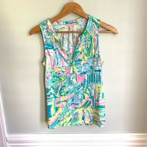Lilly Pulitzer Essie Tank Size Small